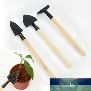 3PCS Set Mini Gardening Tools Balcony Home-grown Potted Planting Flower Spade Shovel Rake Digging Suits Three-piece Garden Tools SN1445