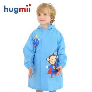 LN6JL O87Y6 Hugmii Hugmii Garçons et Schoolbags Lumière Cartoon Big BRim Schoolbag Baby's Raincoat Élèves avec des filles
