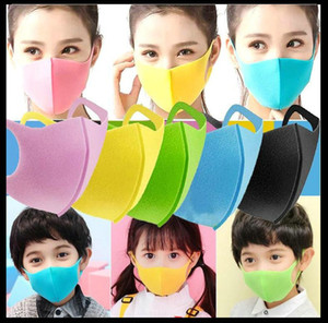 Корабль в 8 часов Дизайнер маска губки Маски моющийся многоразовый Дети Дети Взрослые РМ2,5 Черный Mascarillas Защитные