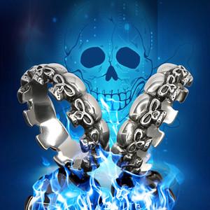 2020 Hot The Skull penis Ring Glans ring Metal Stainless Steel skelet Glans Ring bondage fetish sex toys MKR999
