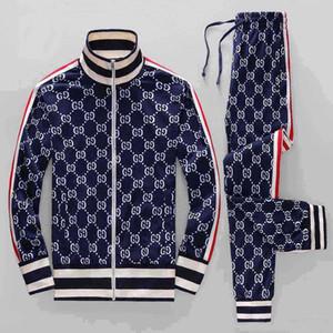 Hip-Hop pescoço bordado homens do algodão de 20 homens Sportswear Bermuda europeus impressa de manga comprida Sportswear verão nova V atender Fábrica para venda