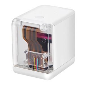 Printer Mini Mobile Cor Durable portátil de máquina de impressão inteligente para escritório 72x51x68mm