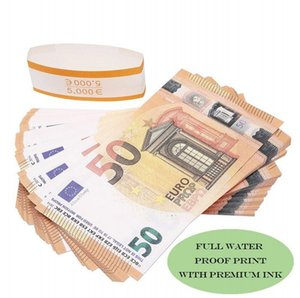 Prop Euro 10 20 50 100 фальшивых денег расквартировать деньги лжа Заготовки евро 20 игра Сбор и подарки Movie