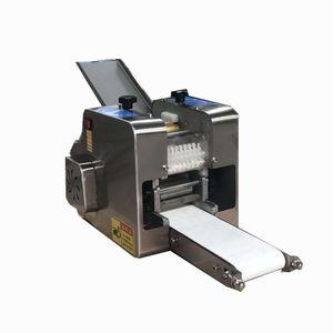 Completa redonda pequena automática / praça gyoza empanada tomada de pele bolinho de massa invólucro que faz a máquina