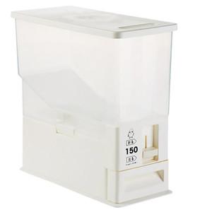 Dayanıklı Depolama Mutfak Mühürlü Pirinç Kepçe qylBfJ allguy için 5kg Konteyner Böcek Otomatik Bin Ölçüm Kutusu Tahıl
