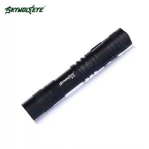 hu2I0 göz Sirius B13 süper parlak LED kalem kolay el feneri taşıma feneri