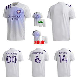 2020 MLS 20 camisa de jogador de futebol 21 2021 Orlando City SC Futebol DWYER MUELLER NANI