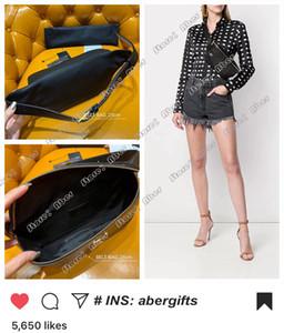 Mode féminine Ceinture Sac luxurys DESIGNERS sacs de marque Cross Body épaule Messenger Sac taille 569737 Grain De Poudre embossé en cuir véritable