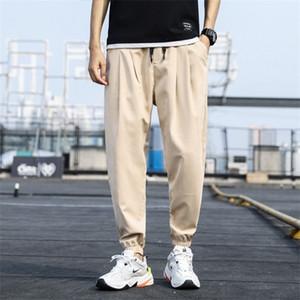 2020 Pant Men Trousers Ankle-length Loose Pant Mens Harem Joggers Casual Sweatpants Men Pants for Male 4XL 5XL