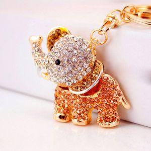 Yenilikçi Charm Glitter Kristal Carousel Araba Anahtarlık Truvalılar Anahtarlık Kadınlar Çanta Çanta Anahtarlık Ring Holderff