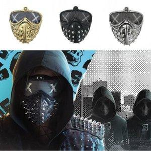 Máscaras Cosplay Masquerade Punk Devil Rebite BWKF Reaper Máscara De Morte Grim Zijhm Halloween Hsjim