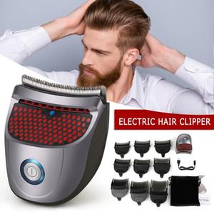 Ferramentas Mini Cordless Self-service Elétrica Clipper Cabelo Profissional Cabelo Trimmer máquina de corte Beard Barber Navalha Men Styling