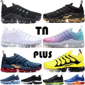 2020 크기는 우리 12 개 Vapourmax 플러스 테네시 실행 신발 배 블랙 화이트 블루 남성 트레이너 여자 골프 테니스 운동 스포츠 스니커즈 CHAUSSURES