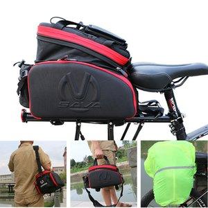 SAVA Fahrrad Trunk Bag Pannier 35L Wasserdicht Fahrrad Radfahren Tasche mtb Radtaschen Hinten Mountainbike Doppelseitenkoffer Tasche MX200717