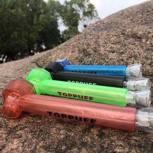 Honeypuff Yeni Geliş Taşınabilir Seyahat Essentials Tütün AcrylicGlass Nargile Su Borusu Shisha Nargile Üst Sigara Aksesuarları