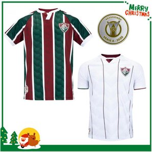 2020 homens Fluminense Adulto + camisa dos miúdos kit de futebol de futebol Silveira Marcos Paulo Nascimento 20/21 Fluminense em casa PH GANSO camisa de futebol