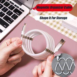 안드로이드 Typec 충전기 USB 데이터 케이블 자기 주최자 마이크로 USB 타입-C V8 플러그 5V 2.4A 삼성 Note10 주 9 S9 화웨이 P20 P30 MQ100