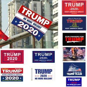 Trump Bandiera 90 * 150cm Trump 2020 Keep America Grande Flag USA Mississippi State bandiere americane Elezioni presidenziali Trump Bandiere HH7-1988