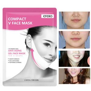 V Ligne de levage Masque Masque mince double menton Réducteur V Shaper Minceur Visage Fermeté Bandage Masque hydratant soins de la peau