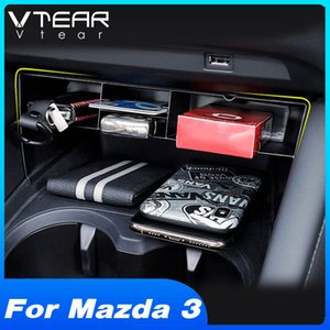 Hivotd For 3 2020 2020 Accessories Car Central Control Storage Box Interior Organizer Case Modification Cover Car Styling