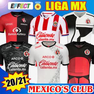 2020 2021 Xolos de Tijuana Futebol 19 20 21 Special Edition Jersey Camisa de Futebol LIGA MX Casa Fora Shirts Kit de Futebol