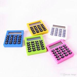 5 colori Student elettronico digitale Mini Calculator all'aperto batterie portatili Pocket Calcolatrici Office Home Digital Calculator DH1271 T03