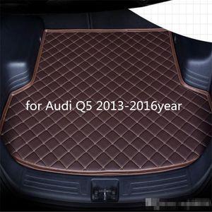 Car anti-skid trunk mat, waterproof leather carpet flat mat, flat mat suitable for Audi Q5 2013-2016year