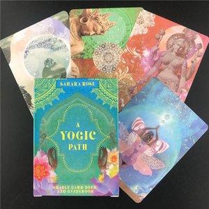 Und Karte Unterhaltung Eine Oracle Englisch Tarot Familie Yogische Deck-Party Pfad Reiseführer Spiele Oracle Karten Brett yxlvAO qpseller