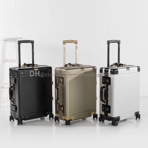 2019 Famous Fashion Rolling Luggage Sets Women Men Unisex Spinner Expandable Trolley Brand