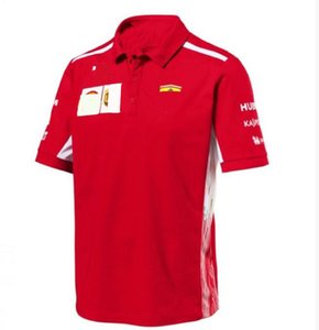 F1 Racing Ferrari Racing Suit Quick-Dry Top-Motorrad-Racing-Polo-Hemd