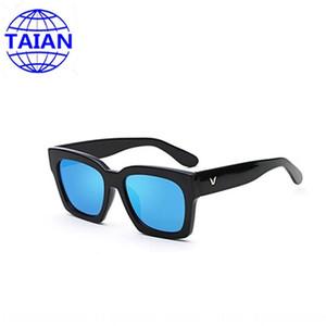 على الطريقة الكورية V العلامة التجارية الشمس مربع الرجال نجمة تانغ يان تشيان Songyi نظارات شمس 2020 نظارات نسائية جديدة