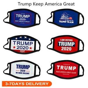 Envío libre de DHL 2020 Máscaras Elección Trump algodón Máscara mantener a Estados Unidos Gran Nuevamente Cosplay Biden partido de la cara del polvo anti contaminación Cúbrase la boca