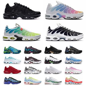 nike air max airmax plus tn air mercurial plus ultra se vapormax Hombres Mujeres Zapatos para correr New Bred Just do it Triple Black White Sneakers Trainers
