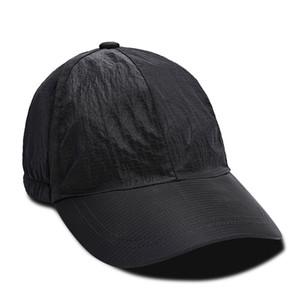 La tecnología cúpula de nylon policromática metal gorra de béisbol arrugas reflectante lavado a la piedra Piratas 19SS Tela envío libre