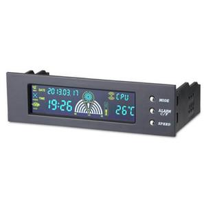 5.25inch 팬 컨트롤러 베이 전면 LCD 패널 3 팬 컨트롤러의 CPU 온도 센서 CPU / HD / SYS 온도 프로브