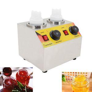 Kommerzielle Jam Soße-Flaschen-Wärmer Maschine Ketchup-Flaschen Warming Maschine Sojasoße Isolierung Maschine Jam Dispenser