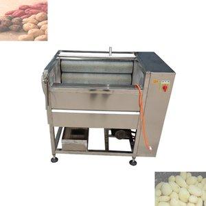 2020 Populaire prix de la machine à laver la carotte occasion commerciale multifonctionnelle petite entreprise Machine à laver gingembre frais