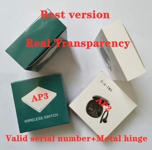 H1chip Hava AP3 Şeffaflık Metal pro kulaklıklar Geçerli SN optik sensör TWS Bluetooth Kulaklık isim ver GPS Navigasyon Bakla AP2 menteşe