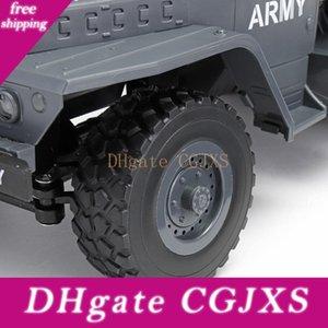 15 kilometros Kuulee Mz Yy2004 / H 2 .4G 6wd 1/12 modelos de camiones militares todo terreno 6x6 Rc Car orugas Juguetes RC para niños y regalo de cumpleaños
