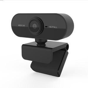 webcam 1920 * 1080 Risoluzione Dinamica HD Webcam completa con built-in Sound assorbimento microfono Auto Color Correction Webcam 1080P webcast