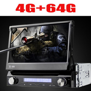 Universal 1 din Android 9 8 core Car DVD player GPS Wifi BT Radio BT USB 64 GB ROM 4G SIM LTE Network SWC RDS CD OBD2