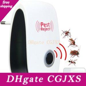 Domestico Elettronico Ad Ultrasuoni Anti Zanzara Repeller EU / US-Stecker Mini Scarafaggio Maus Repeller Di Controllo
