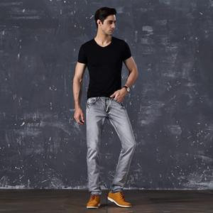 Odinokov Kalem Pantolon Boş Biker Jeans Ucuz Kot Erkek Katı Tam Boy Erkek Skinny