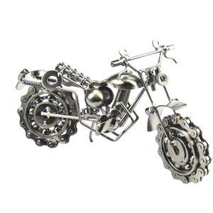 Модель мотоцикла Vintage украшения Small Desktop Iron Art Украшение Crafts