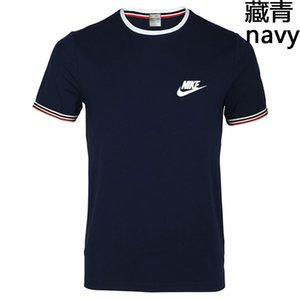Été des femmes des hommes T-shirt New Mode T-shirts avec des lettres respirante manches courtes pour hommes Hauts avec des fleurs T-shirts en gros Niké