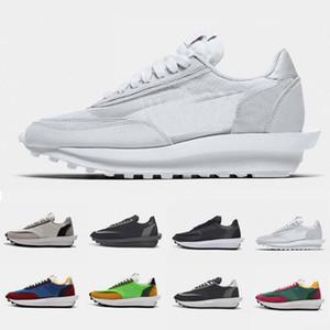 nike sacai Branco Nylon Verde pinho Gusto Pigeon NYC Pombo X LDV Waffle Daybreak Formadores Mens Running Shoes Jogging Mulheres homens Sports Sneakers 36-45
