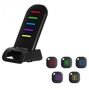 Wireless Elektronischer Schlüssel-Finder Erinnerung mit 5 Schlüsselanhänger-Empfänger für die verlorenen Schlüssel Locator Whistle Key Finder