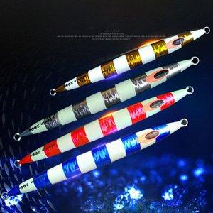 Atsuim veloce Lure maschere verticale Sinking 100g150g200g250g300g400g velocità di caduta di piombo Jig salata metallo artificiale Attrezzatura di pesca Y200827