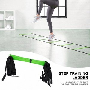 Training Agility Ladders 12 Rung Hot Selling Durable Simple Multi-function Nylon Strap Soccer Speed Ladder Sport Equipment 3zJo#