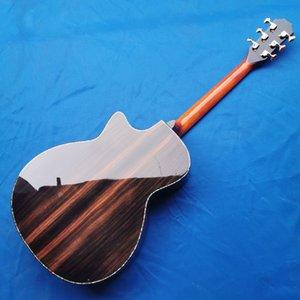 Elektrik Gitar Akustik Katı koa üst Chaylor PS14 akustik gitar, abalone tuşe Abanoz fingerboard, Cocobolo arka ve yan